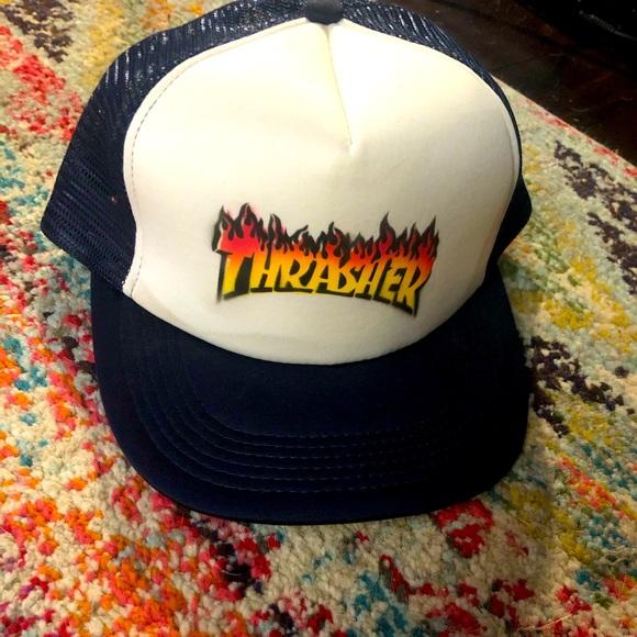 Trucker Hat Thrasher Print